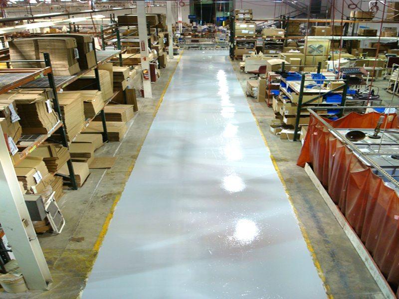 Resinous Flooring Fort Wayne, Indiana