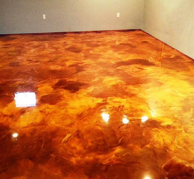 stained concrete fort wayne, Indiana