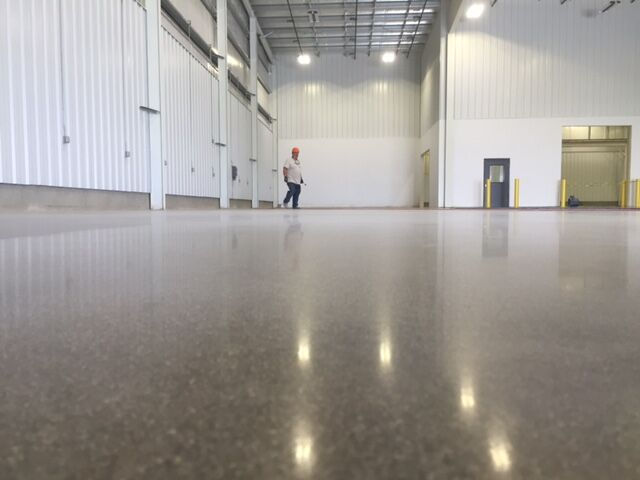 Polished Concrete Fort Wayne, Indiana